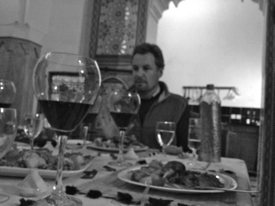 Dar Rbab: Dining with Mark and his family