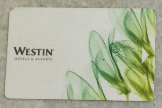 The Westin Los Angeles Airport: Key-card