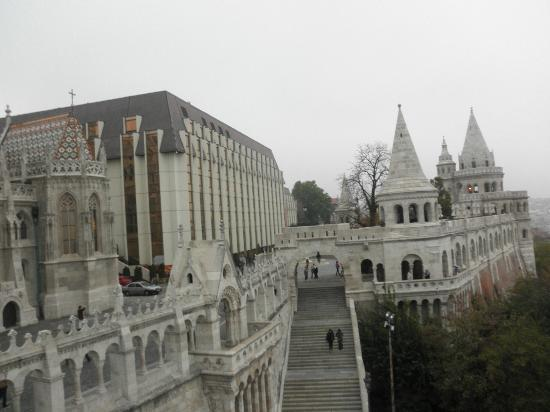 Hilton Budapest - view from the castle
