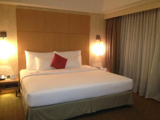 Novotel Singapore Clarke Quay: Comfortable bed