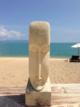 Samui Buri Beach Resort: Strand