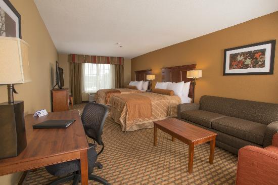 BEST WESTERN PLUS Lake Lanier Gainesville Hotel & Suites: Double Queen Executive room