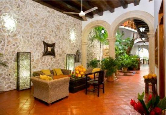 Hotel Casa del Curato: lobby