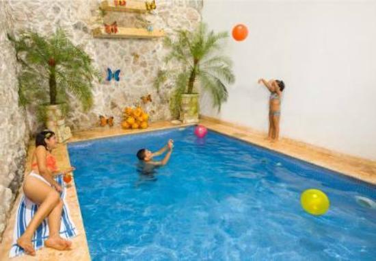 هوتل كاسا ديل كوراتو: piscina y zona recreativa