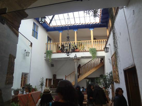 Villa Mayor Hostal: Lobby