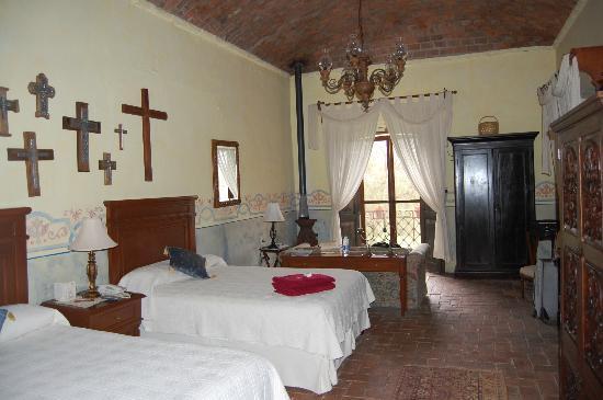Lagos de Moreno, México: Vista de una de las habitaciones