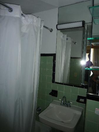 The Park Central: la salle de bains