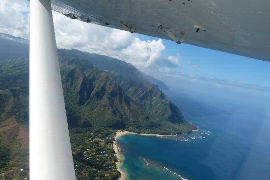 Wings Over Kauai Air Tours: One of a million beautiful views from the sky