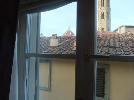 San Firenze Suites & Spa: View from room 304