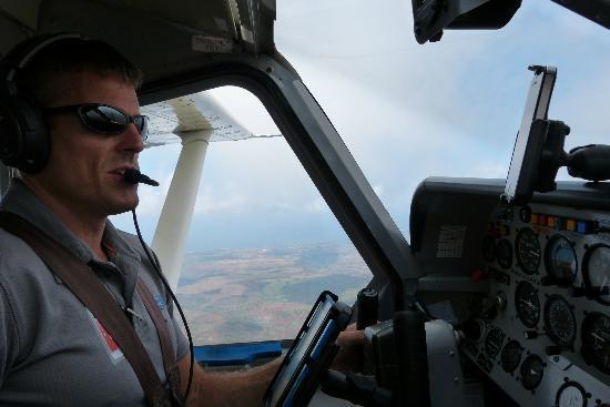 Wings Over Kauai Air Tour: Josh, our pilot