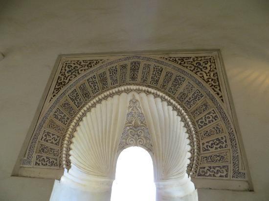 Alcazaba: arch