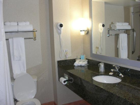 Holiday Inn Express West Los Angeles: Baño todo ok.