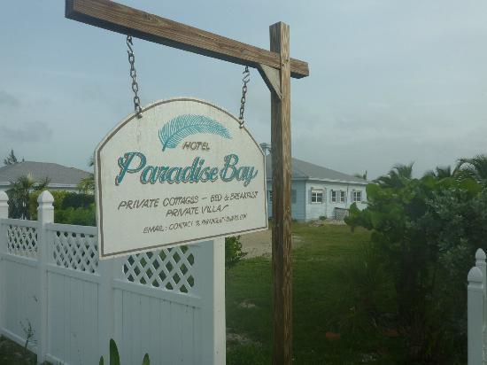 Paradise Bay Bahamas: l'entrée