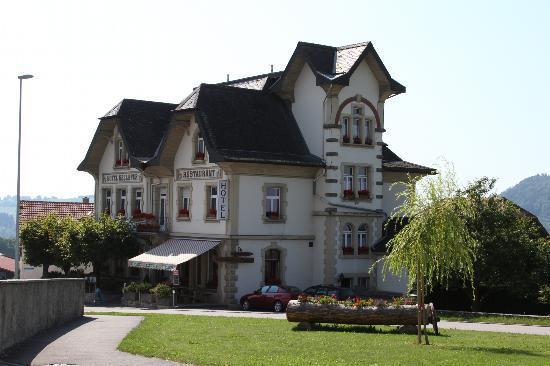 Das Hotel Bellevue in Saulcy JU