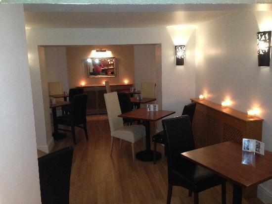 The Royal Oak: The dining room