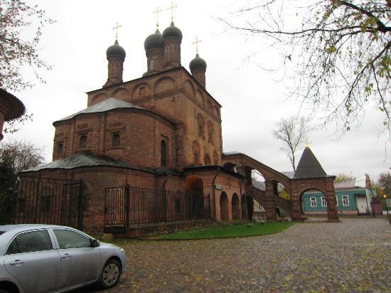 Крутицкое подворье: Assumption Cathedral (Late 16th Century)