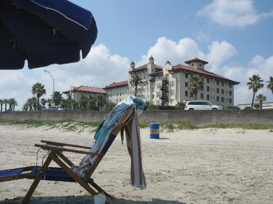 Hotel Galvez & Spa A Wyndham Grand Hotel: Beachfront