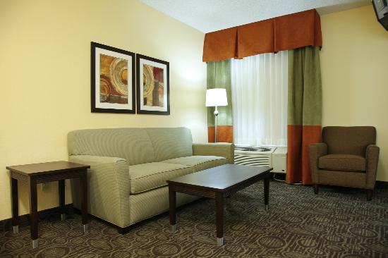 Comfort Inn - Chandler / Phoenix South: Sitting area of the Suite