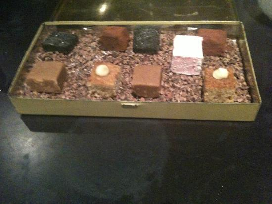 Carters of Moseley : Homemade Petit Fours