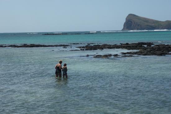 Cape Point Seafront Suites & Penthouse by LOV : Wanderung zu vorgelagerten Felsen