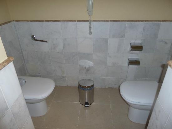 Iberostar Grand Hotel Trinidad: Inodoro y bidet apartados del resto del baño