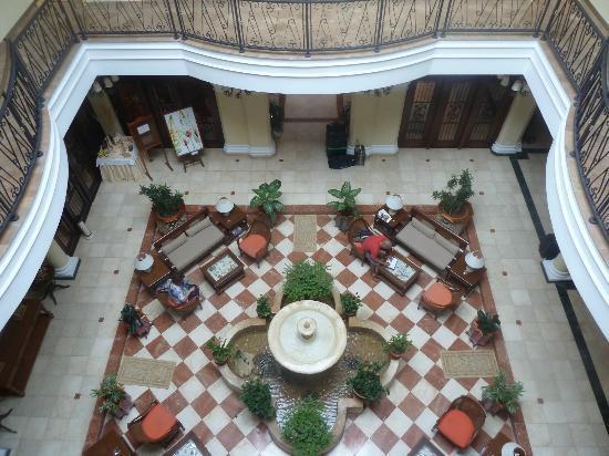 Iberostar Grand Hotel Trinidad: vista del patio desde arriba