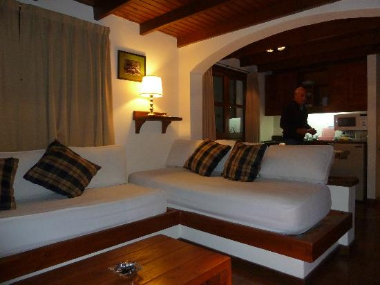 Pailahue Lodge & Cabanas: ambiente integrado