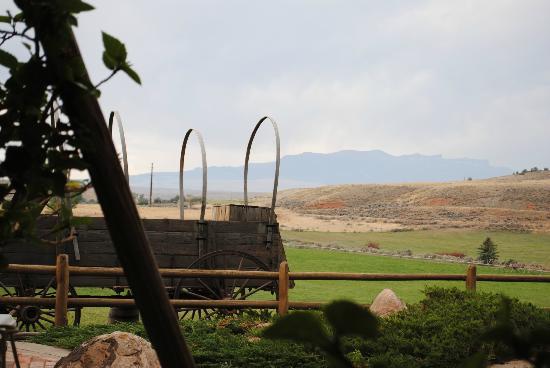 إقامة وإفطار بفندق كاي 3 جيست رانتش: view from K3 outdoor seating 