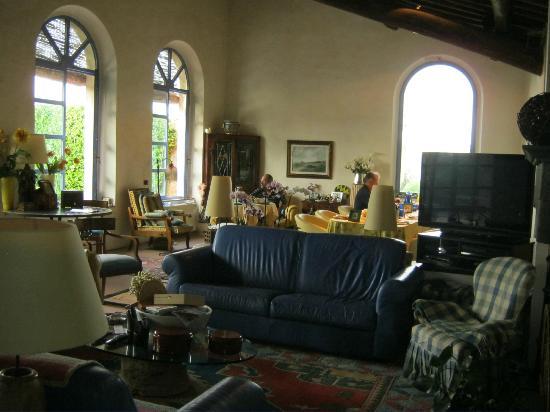 Frances' Lodge Relais: breakfast room