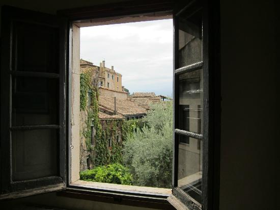 Casa Cundaro: View from the window in Room 202's living room.