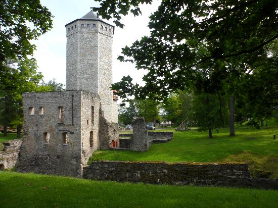 Paide, เอสโตเนีย: castle