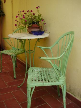 Villino Oriana: Typical decor