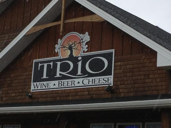 Trio Wine, Beer and Cheese: Trio wine