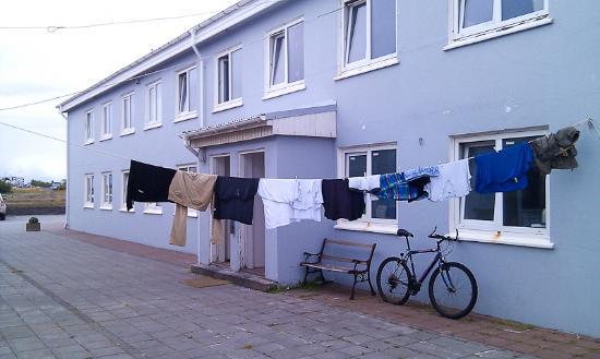 Fit Hostel: Outside the hostel