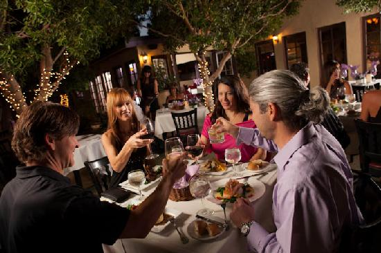 Lavender Bistro: Come Celebrate any occasion on Lavender's Stunning Tree Lit Patio