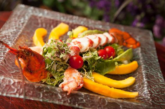 Lavender Bistro: Try our delicious Lobster Salad, truly a work of art.