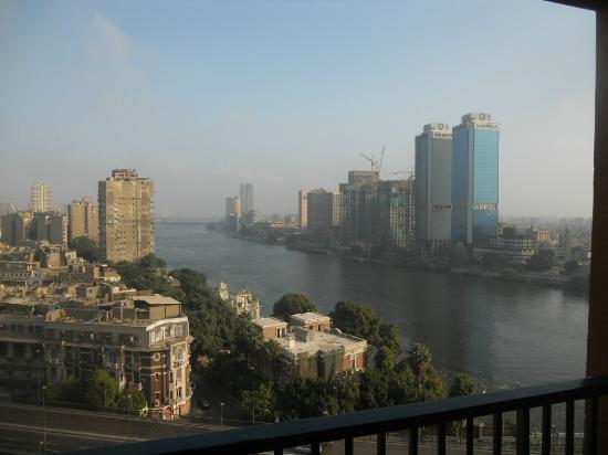 Cairo Marriott Hotel & Omar Khayyam Casino: Du 16eme etage de la Tour Zamalek