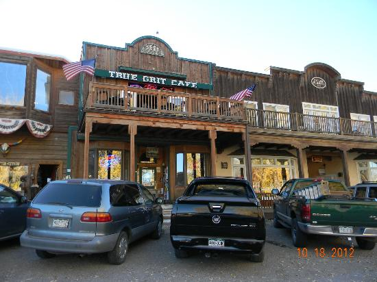 True Grit Cafe: Front of the restaurant.