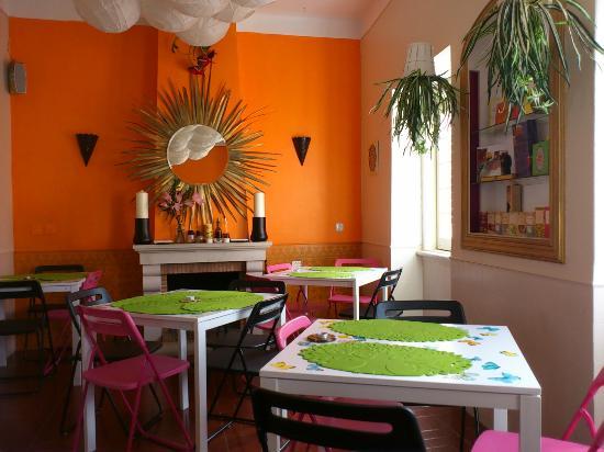 Soul Food: Detalle del comedor interior.