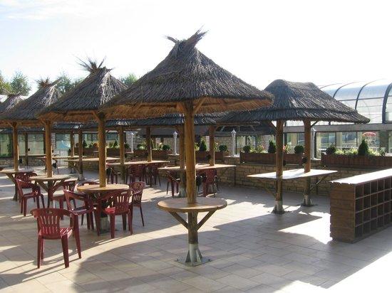 La Croix du Vieux Pont: Pool bar