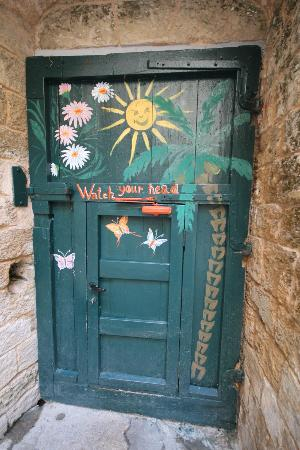 The Fauzi Azar Inn: door