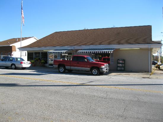 Village Inn: View from the street side.