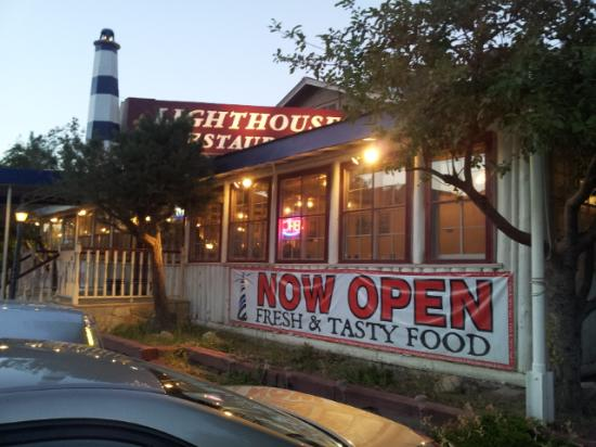 Lighthouse Restaurant : outside of the Lighthouse