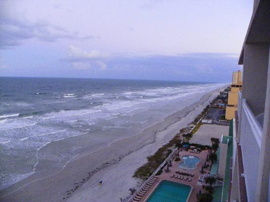 Daytona Beach Resort and Conference Center: Thursdays view south