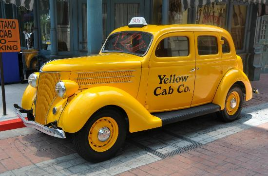 Yellow Cab  Picture of Universal Studios  Singapore