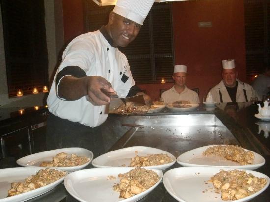 Now Larimar Punta Cana: japenese restaurant