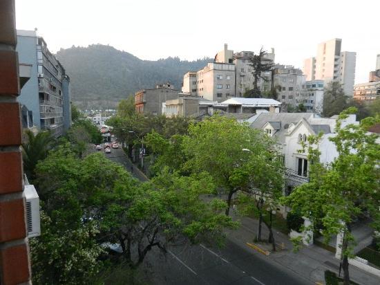 Tulip Inn Presidente Hotel Santiago: view from room