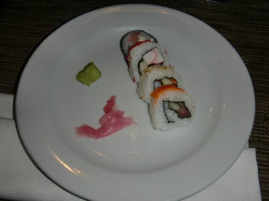 Now Larimar Punta Cana: sushi at japenese r