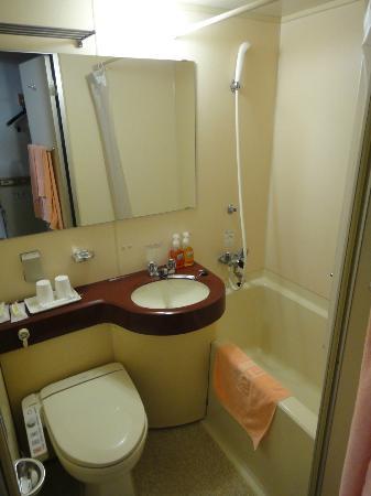 Hotel Alpha One Miyoshi: ユニットバス
