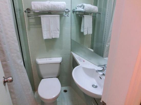 Ibis Hong Kong North Point: バスルーム